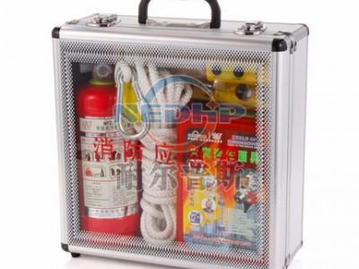 耐尔普斯 6件套 消防应急箱供应 消防检查铝合金透明箱 专业消防应急箱生产厂家直销