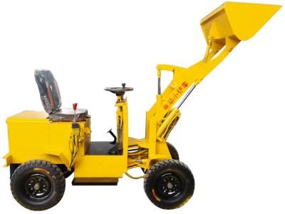 百博  建筑工程机械铲车装载机 四驱轮式装载机 农用单杠小型装载机