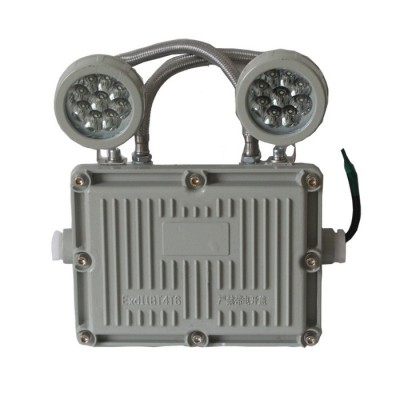 新黎明指示灯防爆消防双头应急灯新国标LED安全出口停电照明灯