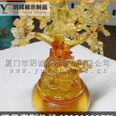 马上钻赚礼品雕塑 仿玉小工艺品 公司送礼 年会礼品定制 可加
